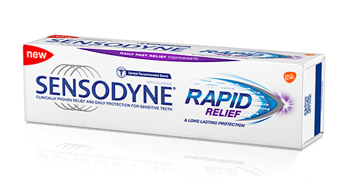 Sensodyne toothpaste for sensitive teeth in india